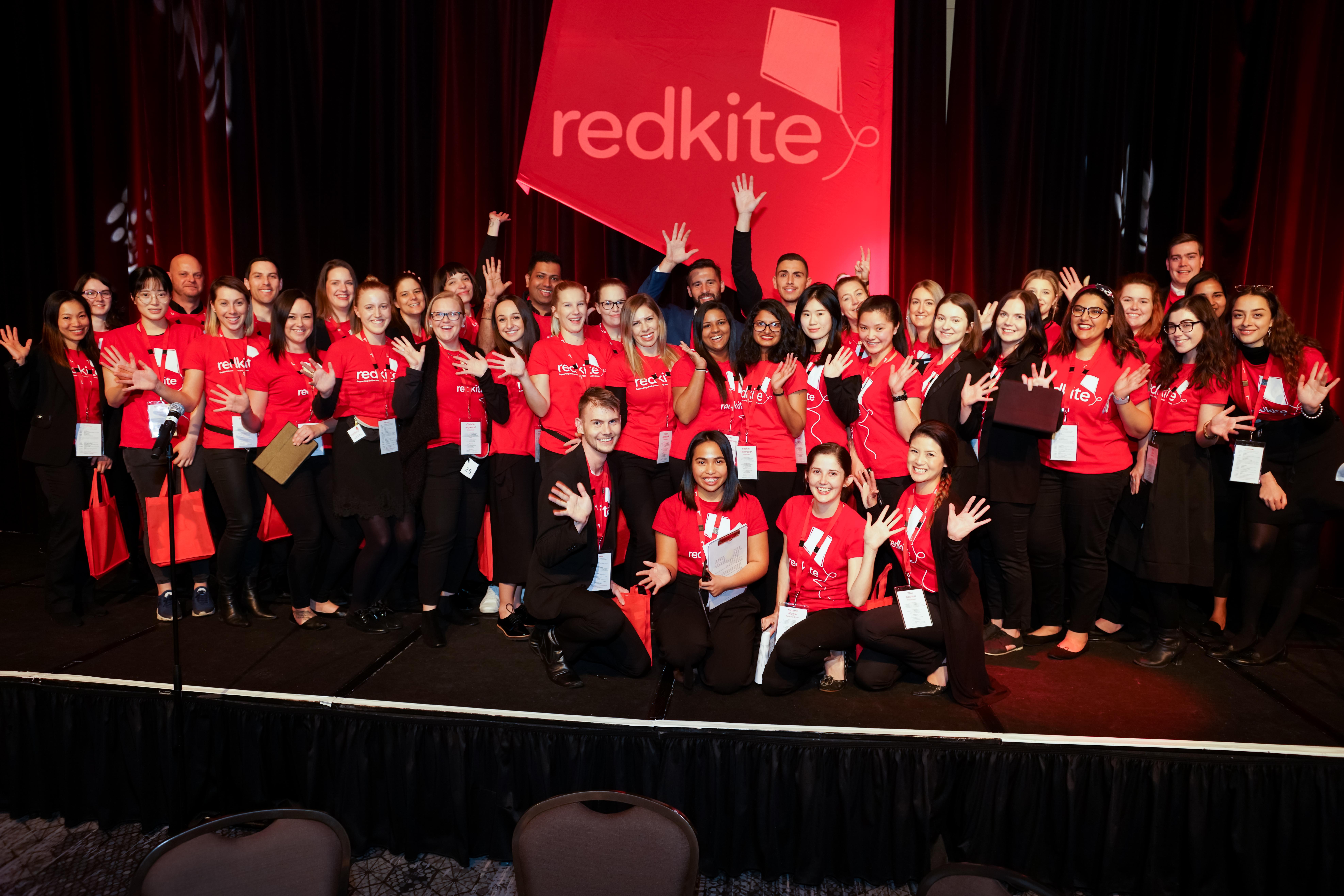 Redkite staff